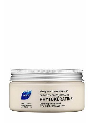 PHYTO PHYTO Phytokeratine Ultra Repairing Mask 200 ml - Yıpranmış ve Zayıf Saçlar Renksiz